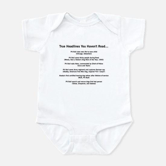 Hero Headlines Infant Creeper