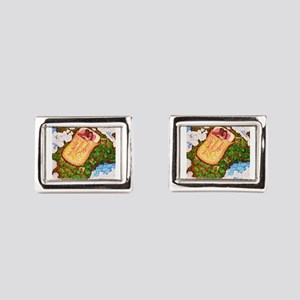 Girdners Adventure Rectangular Cufflinks