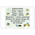 Agility Body Large Poster