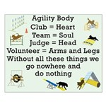 Agility Body Small Poster