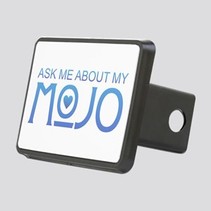 Ask Me About My Mojo Rectangular Hitch Cover