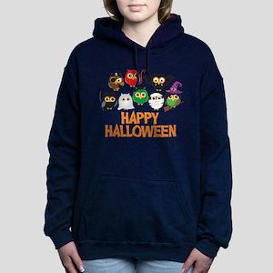 Halloween Owls in Costume Sweatshirt