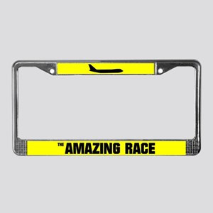 The Amazing Race License Plate Frame