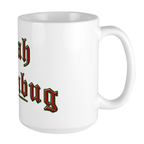 Bah Humbug Large Mug