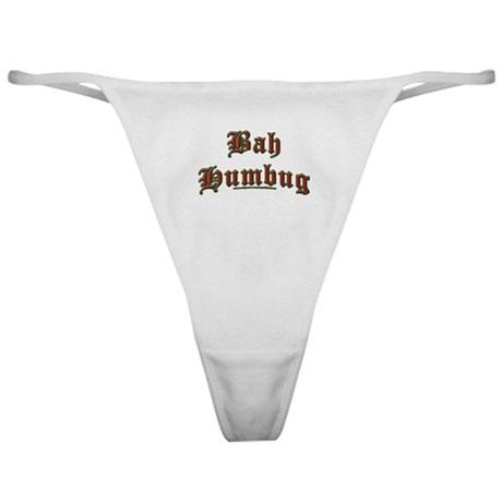 Bah Humbug Classic Thong