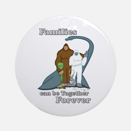 Families Together Forever Ornament (Round)