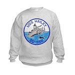 USS HAILEY Kids Sweatshirt