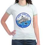 USS HAILEY Jr. Ringer T-Shirt