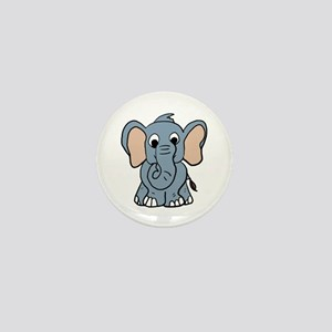 Cute Elephant Mini Button