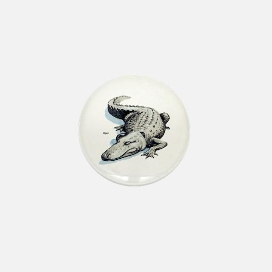 Alligator Gator Mini Button