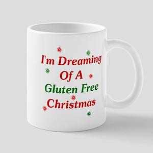 Dreaming Of A Gluten Free Christmas Mug