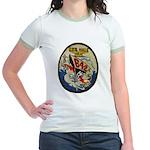 USS HALE Jr. Ringer T-Shirt