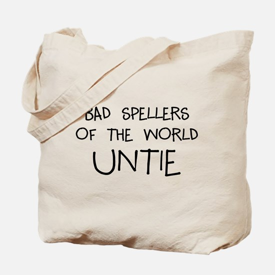 Bad Spellers Tote Bag