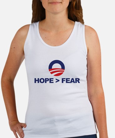 Hope is Greater Than Fear Women's Tank Top