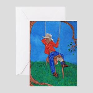 Little Cowboy Greeting Card