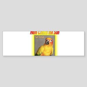 Sun Conure Bumper Sticker
