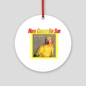 Sun Conure Ornament (Round)