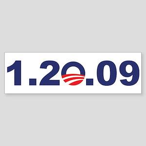 1.20.09 - President Obama Bumper Sticker