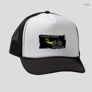 4e9bfe23926 California dreaming Surfing USA Kids Trucker hat