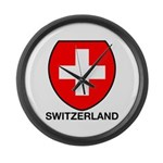 Switzerland Large Wall Clock