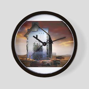 Inward Stillness Wall Clock