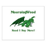 MourningWood Small Poster