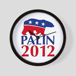 Sarah Palin 2012 Wall Clock