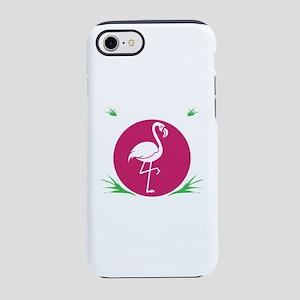 Flamingo Shirt Flamingo Wate iPhone 8/7 Tough Case