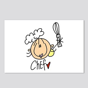 Female Chef Postcards (Package of 8)