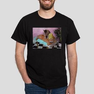 Funny Cat Massage T-Shirt