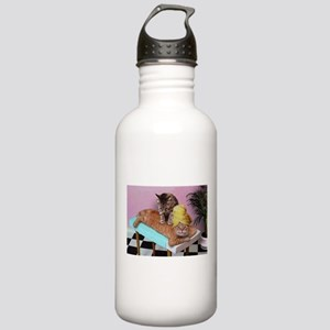 Funny Cat Massage Water Bottle