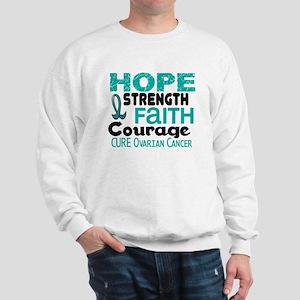 HOPE Ovarian Cancer 3 Sweatshirt