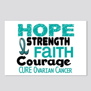 HOPE Ovarian Cancer 3 Postcards (Package of 8)