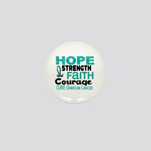 HOPE Ovarian Cancer 3 Mini Button