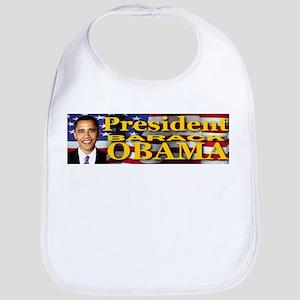 President Barack Obama Bib