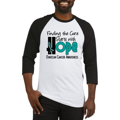 HOPE Ovarian Cancer 4 Baseball Jersey