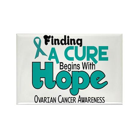 HOPE Ovarian Cancer 5 Rectangle Magnet