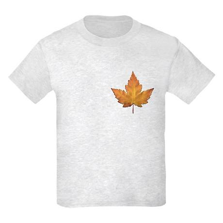Kids Light Canada T-Shirt Canada Souvenir Kids Tee