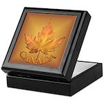 Canada Keepsake Box Canadian Souvenir Box