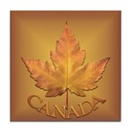 Canada Tile Coaster Maple Leaf Souvenir Coaster