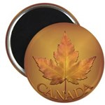Beautiful Canada Ma[ple Leaf Fridge Magnet