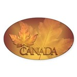 Canada Sticker 50 pack Beautiful Canada Maple Leaf