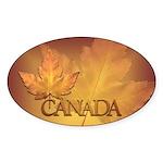 Canada Sticker 50 pack Beautiful Canada Maple Leaf