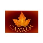 Canada Rectangle Magnet (100 pack)