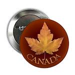 Canada Button 100 pack Canadian Leaf Souvenir