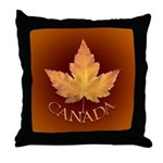 Canada Throw Pillow Canadian Maple leaf Pillow