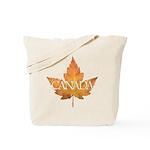 Canada Tote Bag Canada Souvenir Grocery Tote Bag