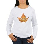 Canada Women's Long Sleeve T-Shirt Caanda Souvenir