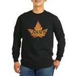 Canada Long Sleeve Dark T-Shirt