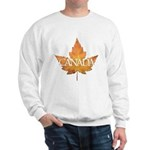 Canada Sweatshirt Canadian Maple leaf Art Shirt